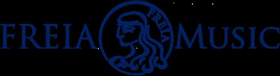 FreiaMusic-Logo Donkerblauw